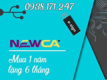 giá chữ ký số 1 năm công ty newca