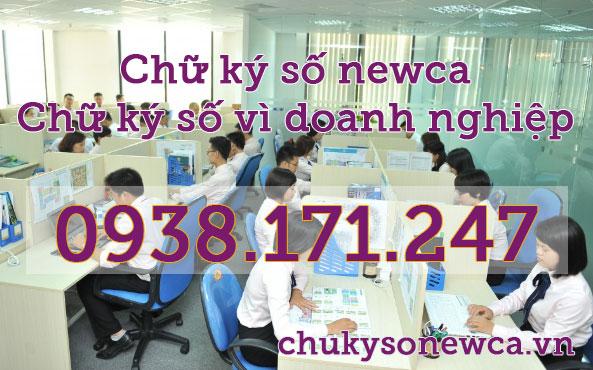 chữ ký số newca vì doanh nghiệp