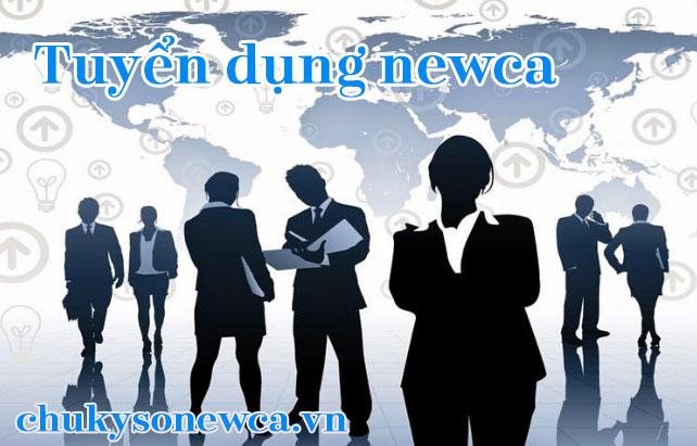 công ty newca tuyển dụng nhân viên