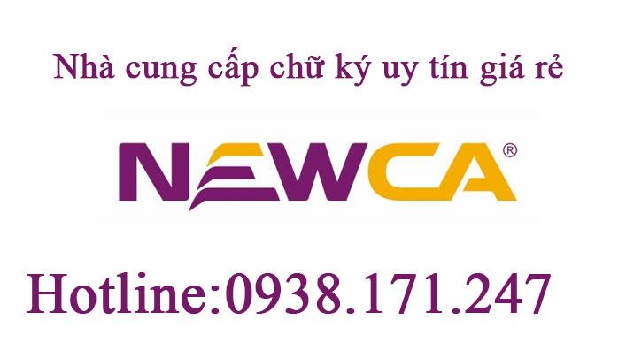 chữ ký số newca hcm giá rẻ